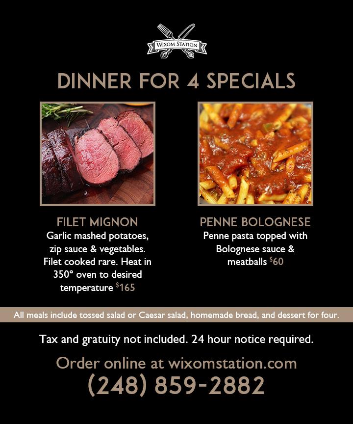 wixom-station-promo-dinner-for-4